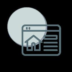 Hjemmeside Midtjyske Marketing ikon